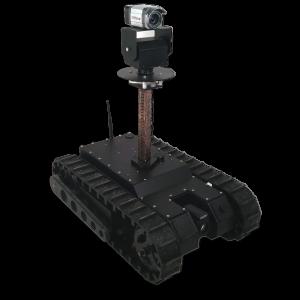 Zippermast - UGV mit Kamera